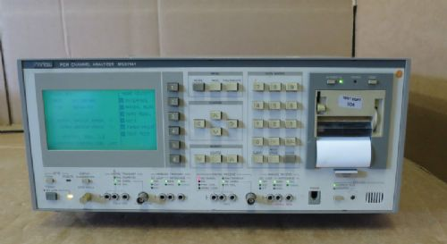 Anritsu MS371A MS371A1 PCM Analog Digital Channel Analyser ITU-T Measuring
